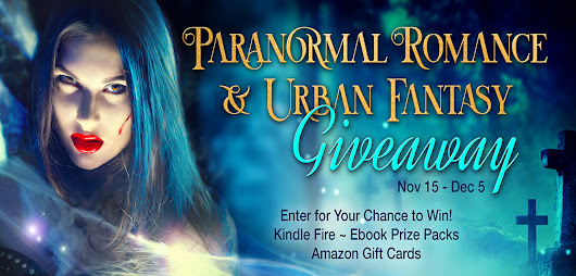 Paranormal & Urban Fantasy Fix + Kindle Fire, ebook prize packs, Amazon gift cards up for grabs!