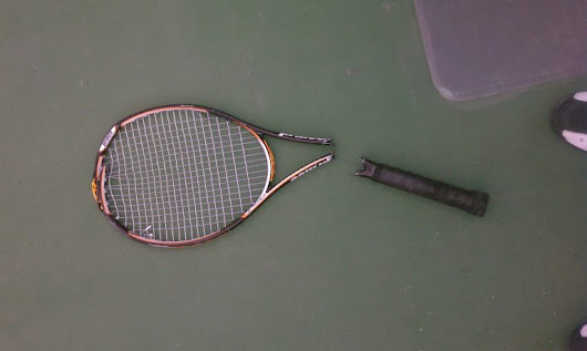 Can You Fix A Cracked Tennis Racquet/Racket - Learn With Hammad