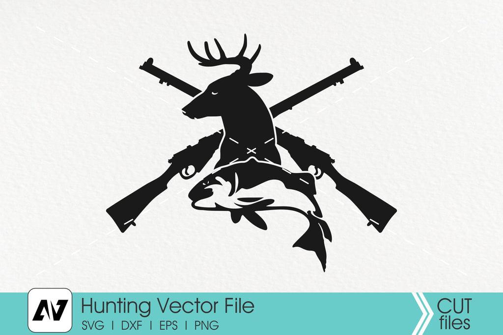 Hunting Svg Trophy Hunting Svg Fishing Svg So Fontsy