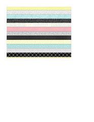 4 A2 card size bold Christmas stripes Horizontal (subtle)