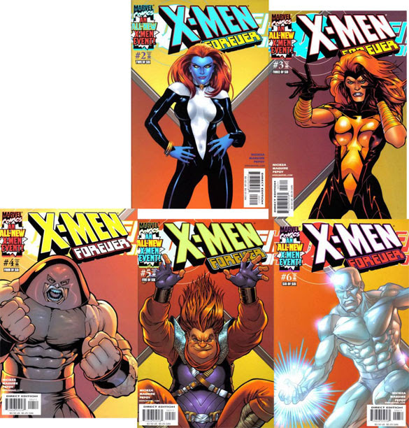 X-Men Forever #2-6