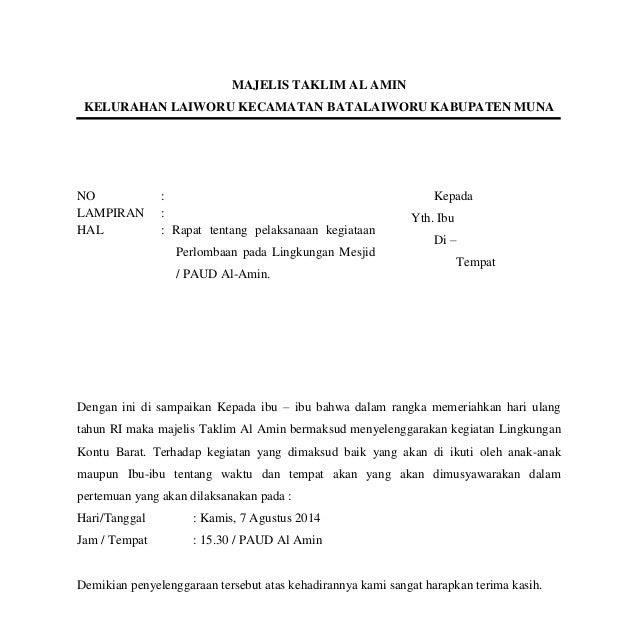 Undangan 17 Agustus Doc Kota Masaran