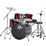 Rogue 5-Piece Complete Drum Set, Wine Red