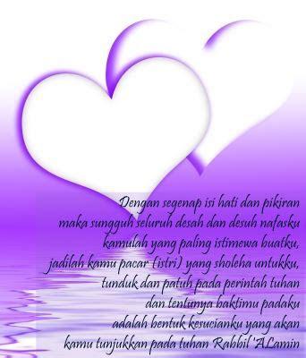 kata kata mutiara buat pacar tentang cinta menyentuh hati