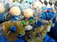 Ice Tree Queen Ornament Dolls! 8
