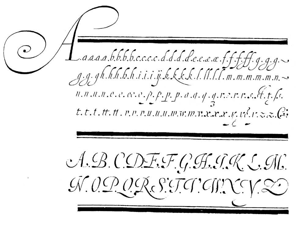 Secondat: written by hand