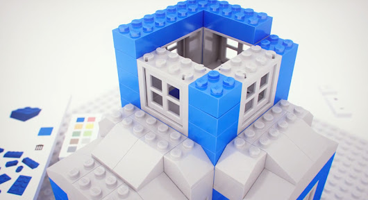 become a digital architect with google build: a chrome experiment with LEGO - designboom | architecture & design magazine