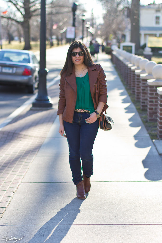 green blouse, brown leather jacket-1.jpg