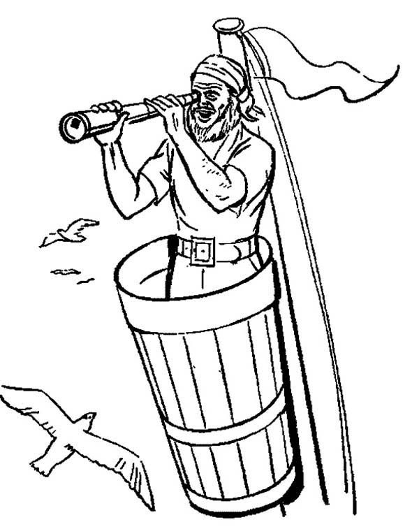 Download Telescope Coloring Pages