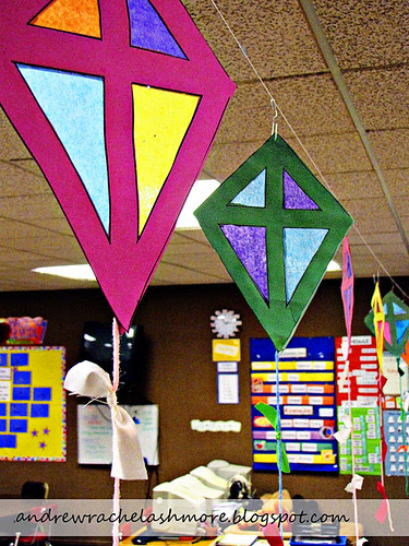 Stain Glass Kite Craft
