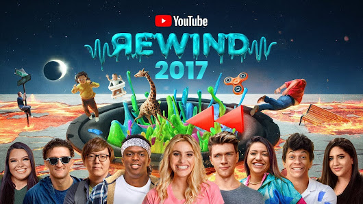 Video #YouTubeRewind: The Shape of 2017