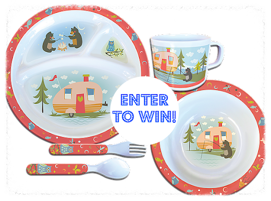 Camp Casual Child Dish Set Give-A-Way!