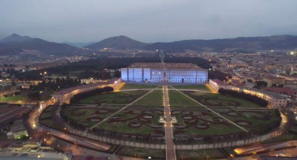 Video La Reggia Di Caserta Vista Da Un Drone Immagini