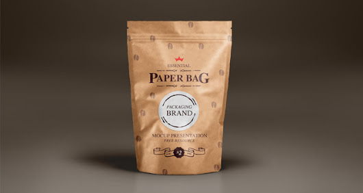 Psd Paper Bag Mock-Up Template Vol2 | Psd Mock Up Templates | Pixeden