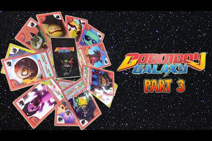 Kartu Boboiboy Galaxy Card