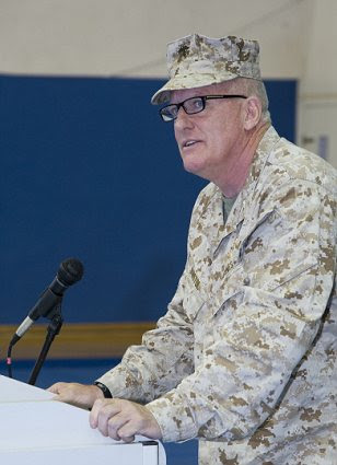 US Marine Corps Col. George Bristol commanded Special Operations Forces in Northern Africa when terrorists attacked the American Consulate in Benghazi, Libya