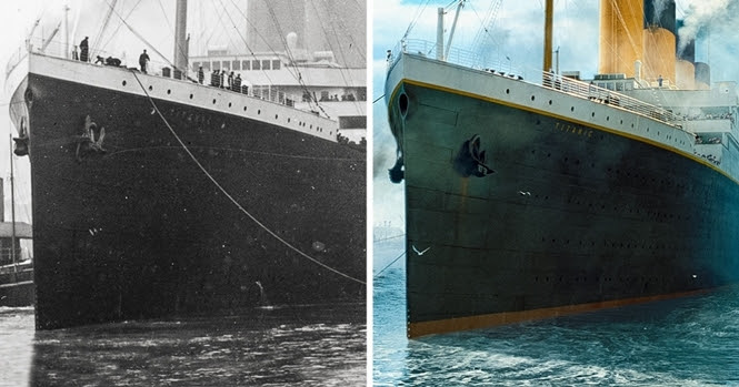 Fotos da réplica do Titanic que vai zarpar em 2018