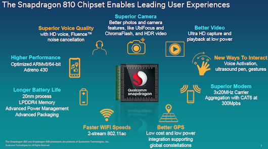 Qualcomm's 2015 chips may make you regret getting a new phone this year