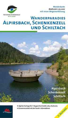 Wanderkarte Schenkenzell / Schiltach / Alpirsbach