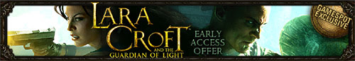 GameSpot exclusive early access offer for Lara Croft and the Guardian of Light