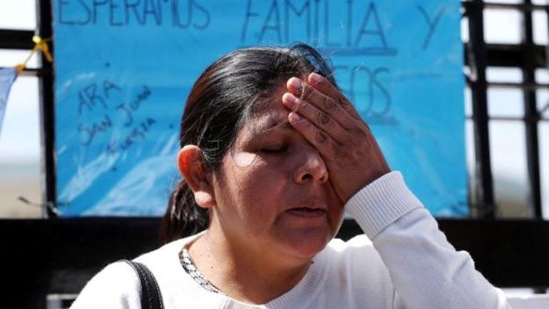 O αδεργός της Elena Alfaro ο Cristian Ibañez ήταν στο υποβρήχιο