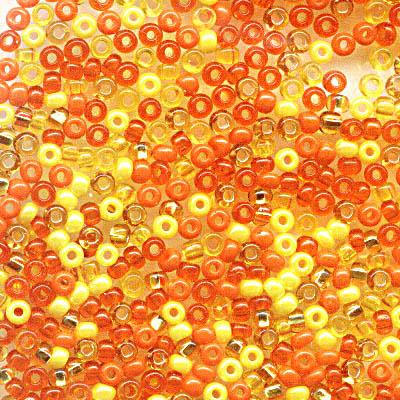 cfxsquashblossom ColourFX - 11/0 Czech Seedbeads - Squash Blossom