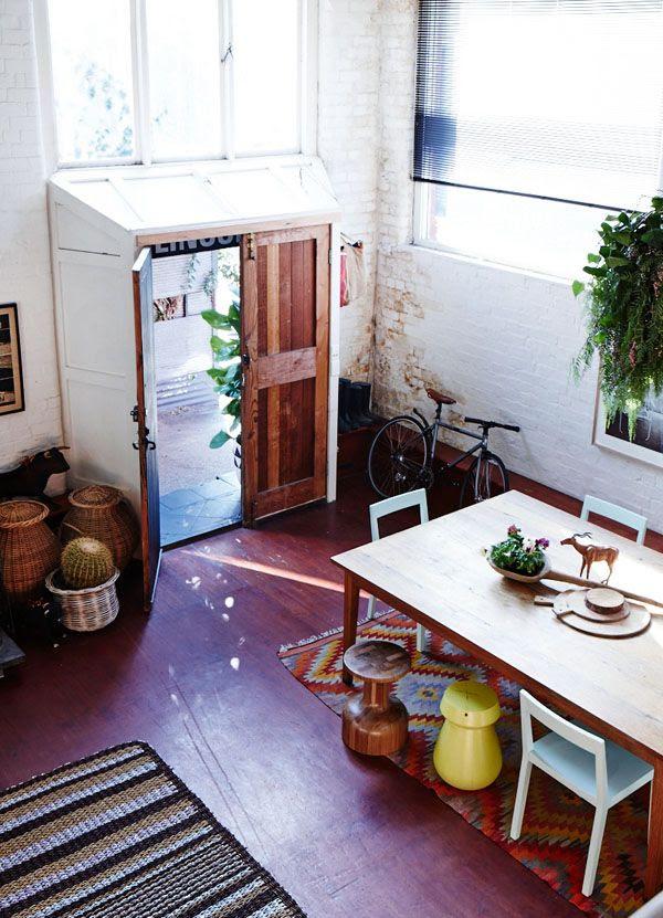 Sarah Nolan's home via the design files