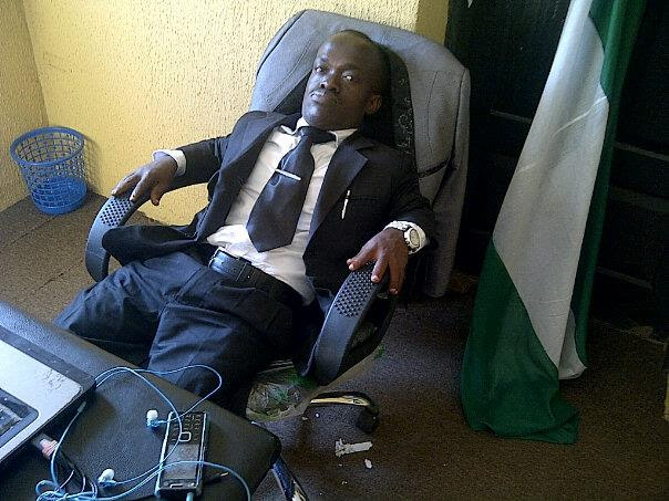 file copy Barrister in his office