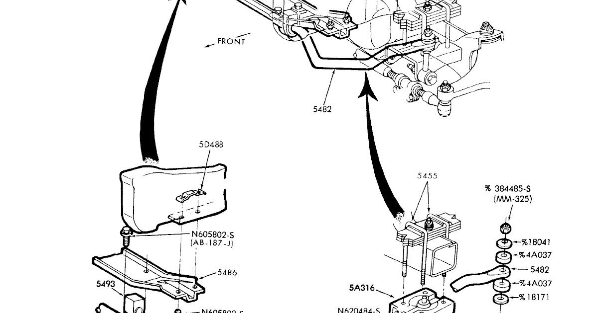 [DIAGRAM] 96 F350 Sway Bar Diagram