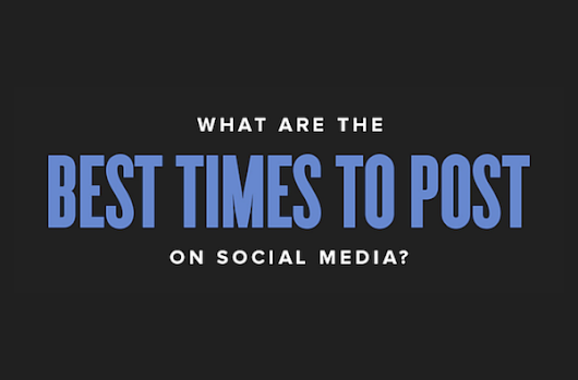 What are the Best Times to Post on #Facebook, #Twitter and #Instagram? [INFOGRAPHIC]