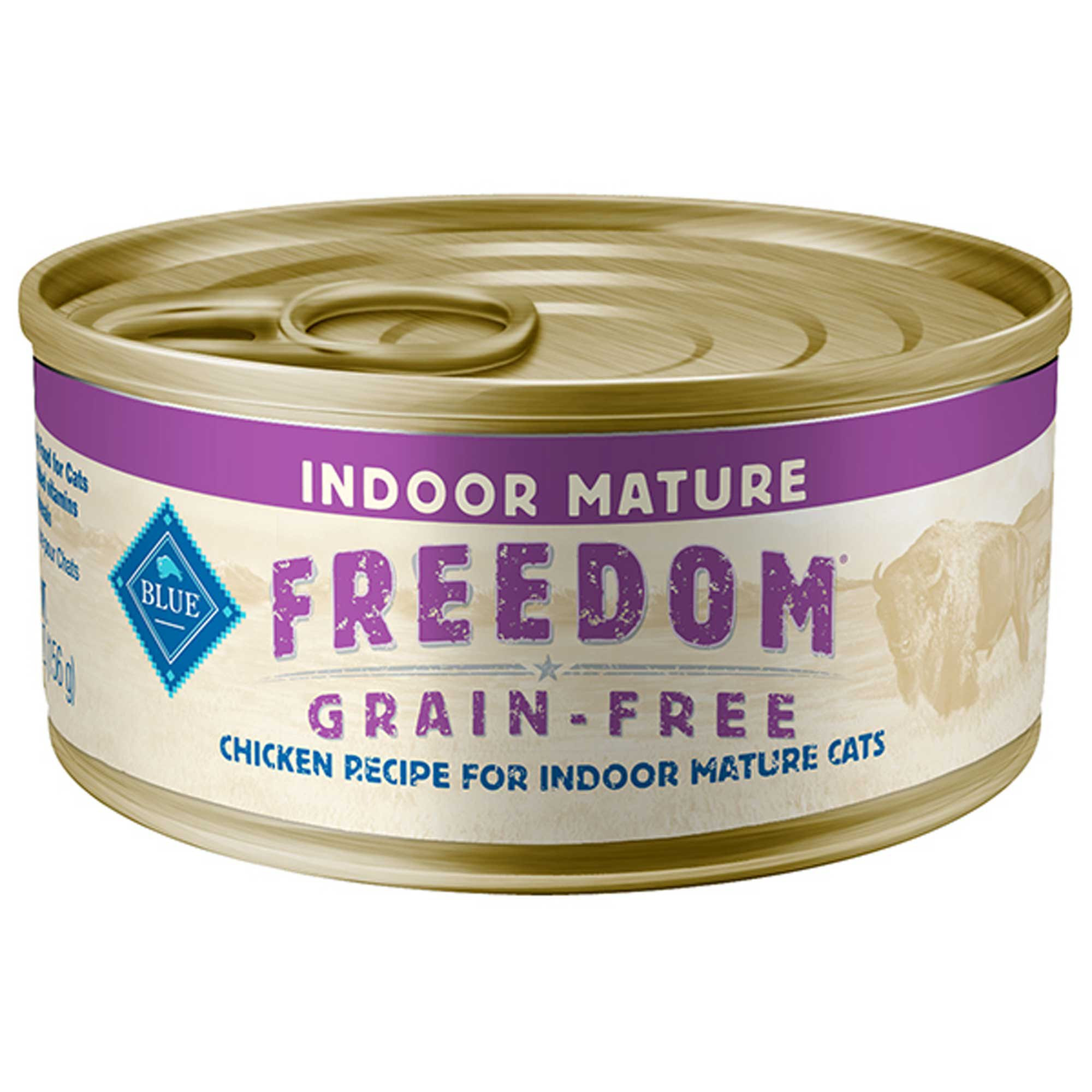 Blue Buffalo Freedom Grain Free Indoor Chicken Senior Canned Cat Food | Petco