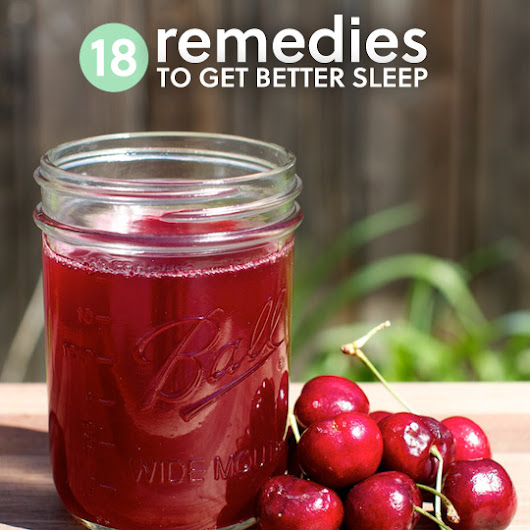 18 Natural Sleep Aids to Get Better Sleep