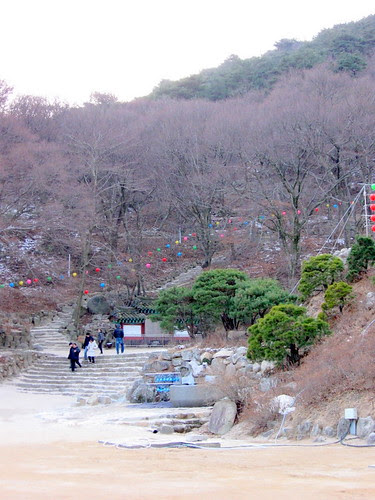 Stairs at Seokguram Grotto