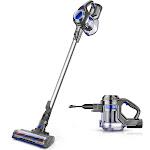 MOOSOO M Cordless Vacuum, 10Kpa Powerful Suction, 4-in-1 Stick Handheld Vacuum Cleaner