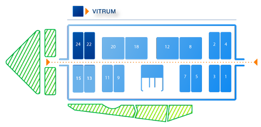 Zhengzhou Sunrise Present at Italy Vitrum 2015 in October_Zhengzhou Sunrise Refractory