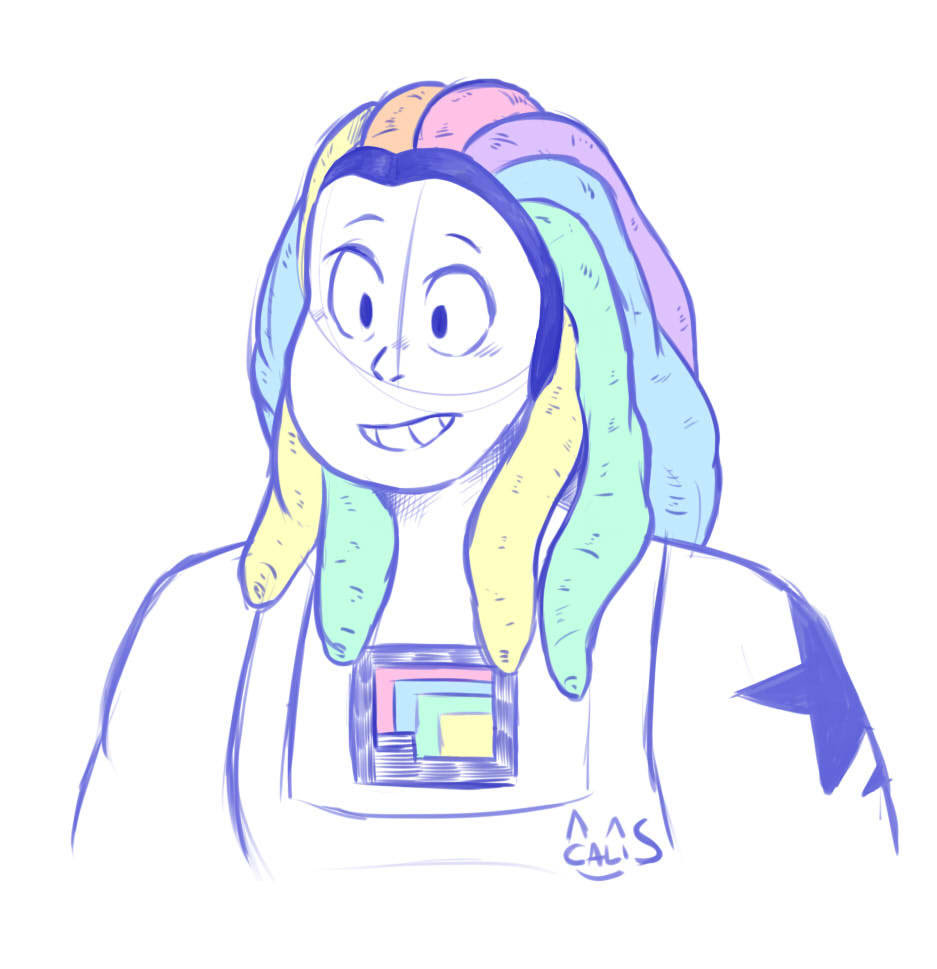 Lil' Bismuth doodle cuz she's really cool !