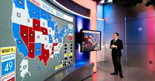 Loaded With Data and Whiz-Bang Effects, Maps Are the Real Stars of Election-Night TV