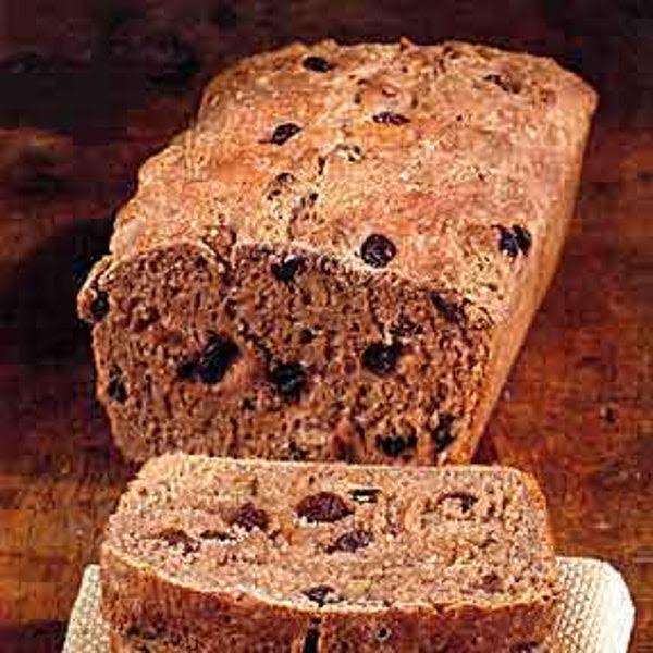 Whole Wheat Bread with Raisins and Walnuts recipe ...