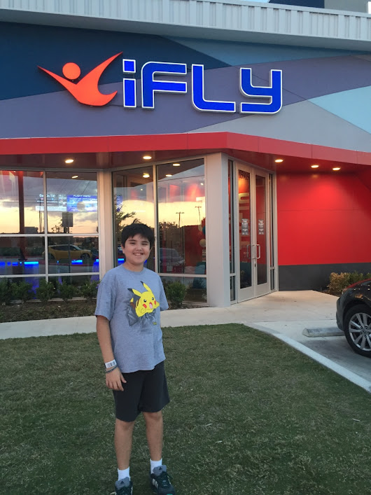 Our Indoor Skydiving Experience at iFly
