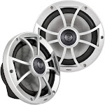 """Wet Sounds Xs-808 Silver Cone 8"""" Coaxial Speakers (pair)"""
