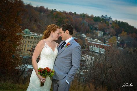 Basin Park Hotel Wedding Ceremony   Eureka Springs Weddings