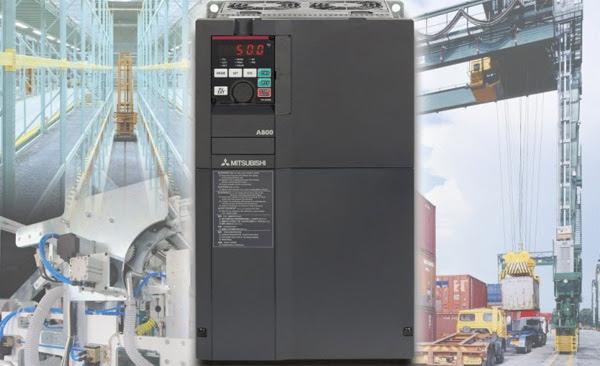 Nuevo variador de frecuencia FR-A800 máximas prestaciones en maquinaria y equipos