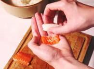 Nigiris sushis : Etape 2