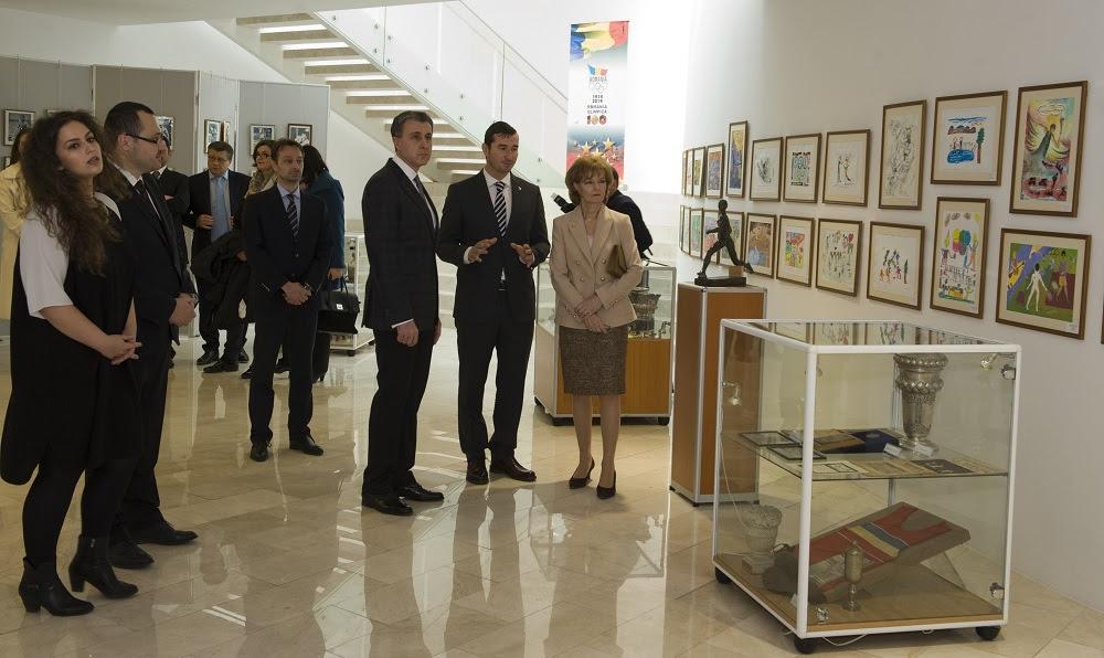 Principesa Moștenitoare și Principele Radu, vizită la Comitetul Olimpic și Sportiv Român