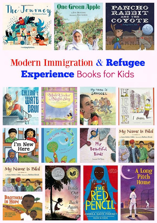 Modern Immigration & The Refugee Experience Books for Kids