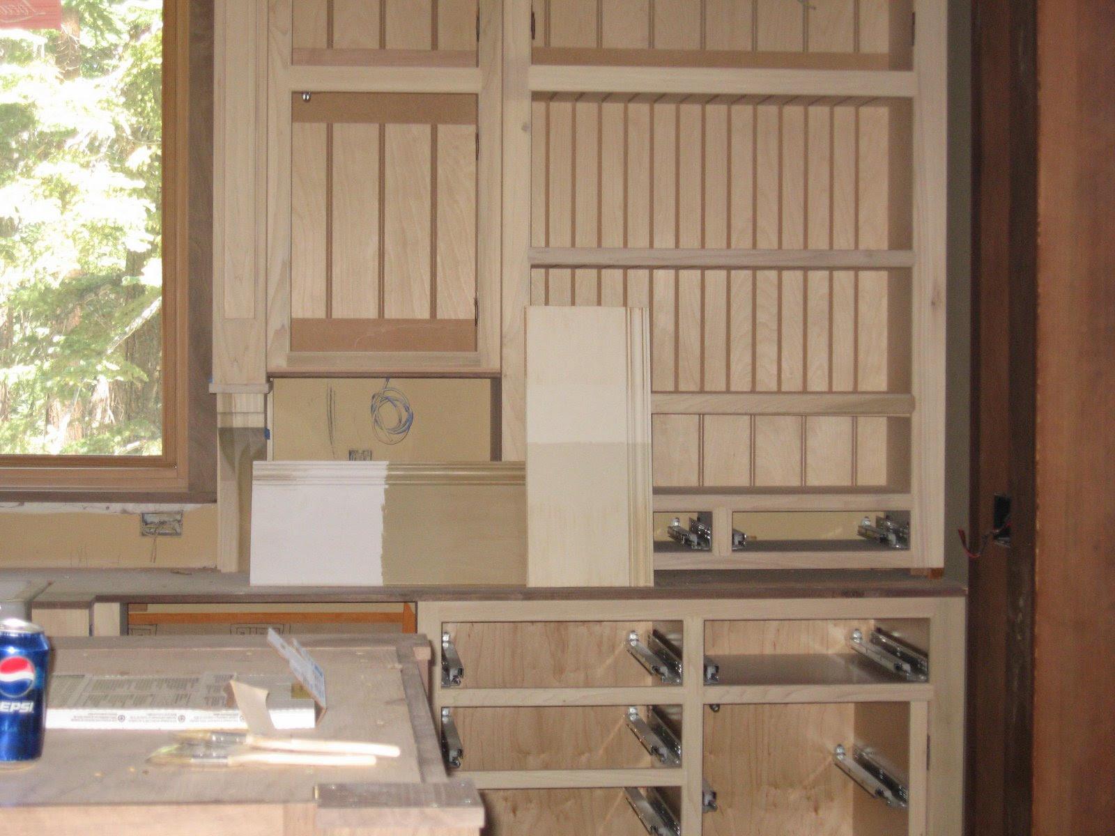 Kitchen Cabinet Wood Colors