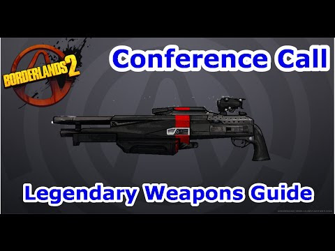 Borderlands 2 Conference Call Shift Code | 02 Conference Call