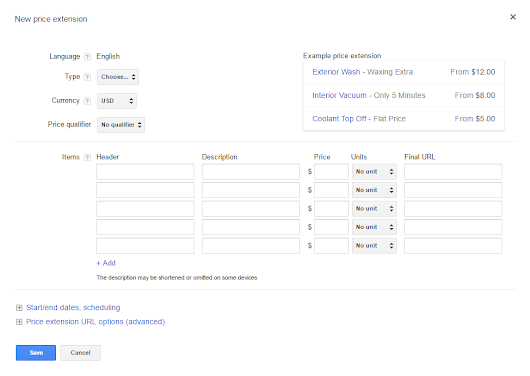 Price Extensions Training: Learn All About the Newest AdWords Ad Extension