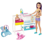 Barbie Skipper Babysitters Inc. Doll and Playset, 3+