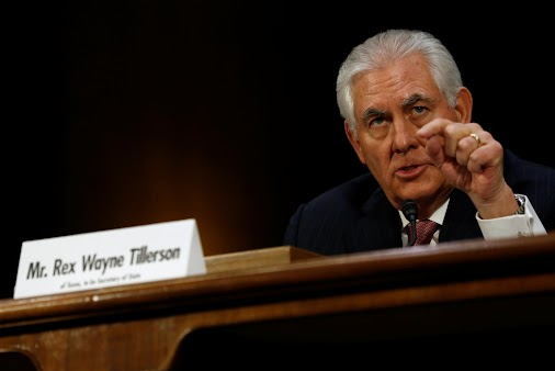 #IraqatWar Secretary of State Rex Tillerson plans to remove Iraq from US list of world's worst offenders...